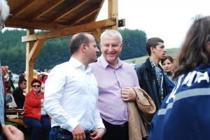 Малинов на събор в с. Мирково